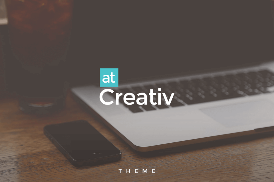 Creativ - Axure Template