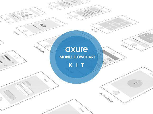 Mobile Axure Flowchart Template Kit