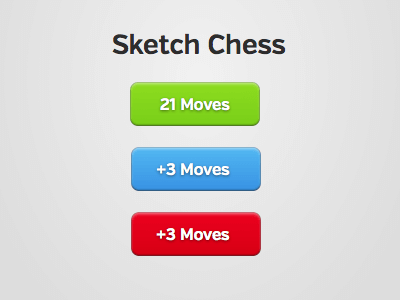 Sketch Chess Button UI Kit for Sketch