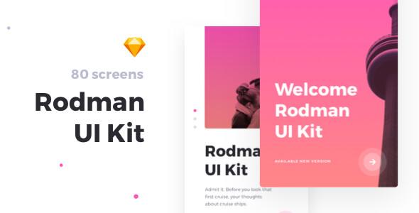 Rodman Mobile Sketch UI Kit