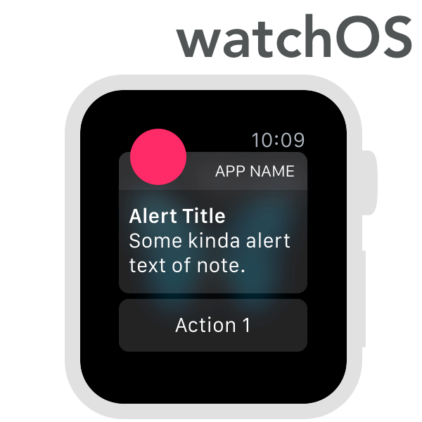APPLE WATCHOS SUITE Omnigraffle Stencil