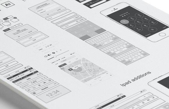 Iphone and Ipad design widgets