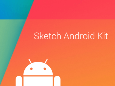 Sketch Android UI Kit