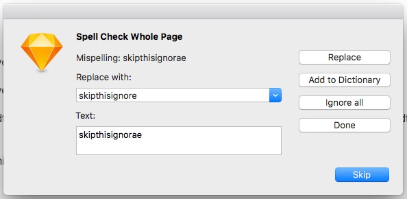 spell check whole page sketch plugin ux ui land