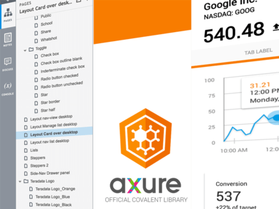 Official Teradata Covalent Axure Widget Library