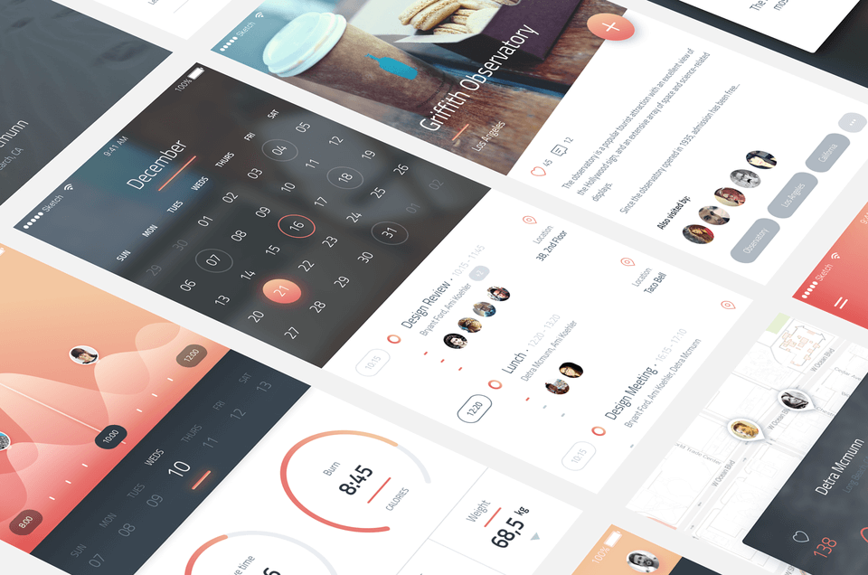 Phoenix UI Kit for Sketch