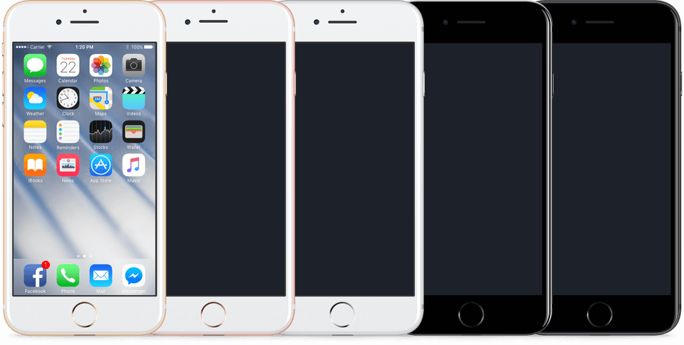 iOS 10 GUI Kit (iPhone) for Sketch