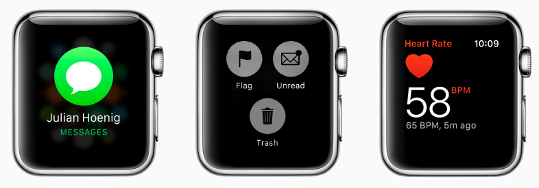 WatchOS Design Sketch UI Kit
