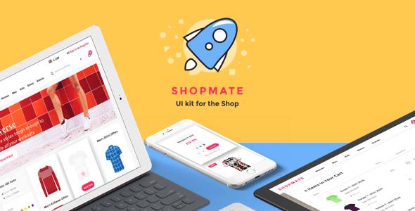 Shopmate UI Kit for Sketch