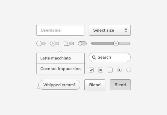 Coconut PSD UI Kit