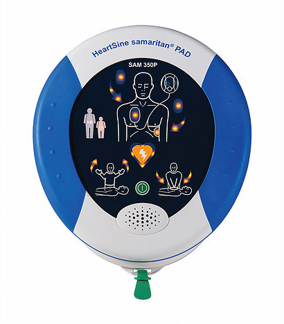 Heartsine Samaritan Pad 350P Semi Automatic Defibrillator