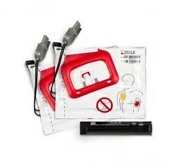 Lifepak CR Plus Defibrillator Pads & Charge Stick Combi(2 sets of Pads)