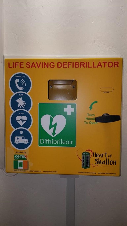 Installation of Phonebox, Ce-Tek Medical Cabinet and Defibrillator