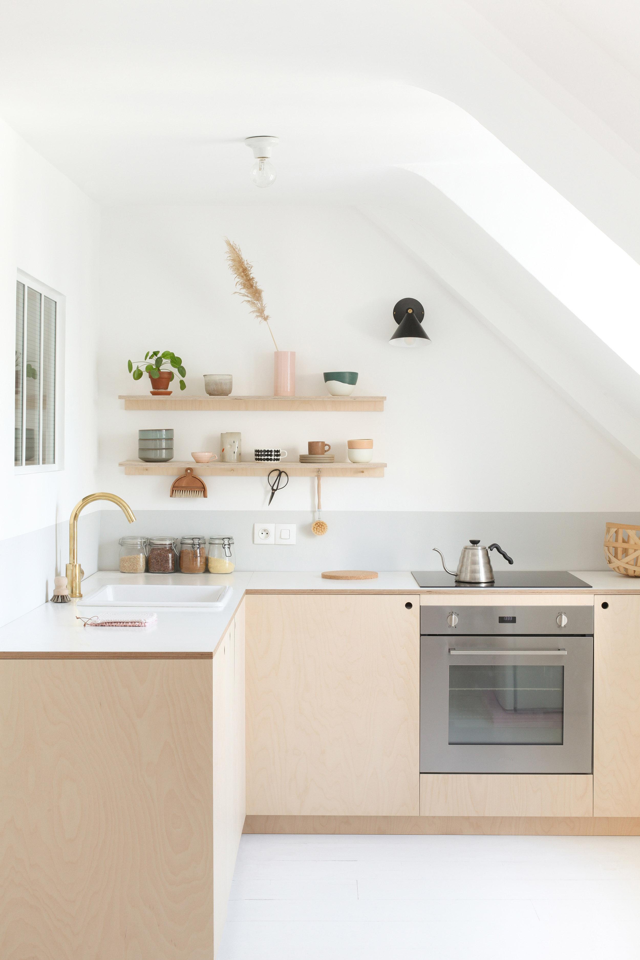 Colle Pour Plan De Travail Cuisine cuisine minimaliste