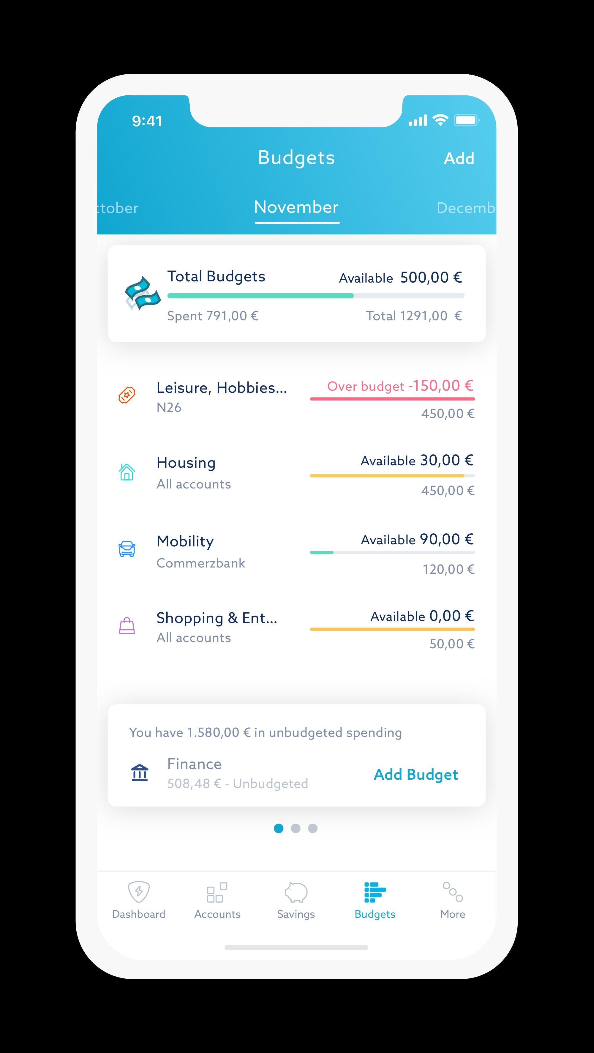 Zuper Budgets