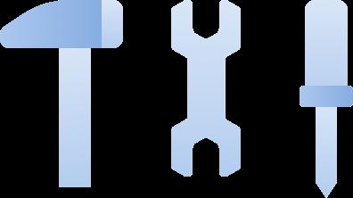 Illustration of tools.