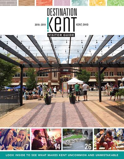 Kent Visitor Guide Kent, OH. Photograph by Matt Keffer