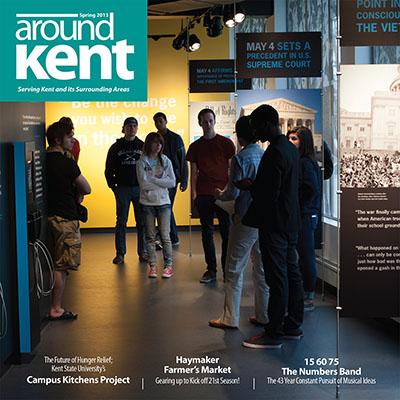 aroundKent Magazine design. Photography by Matt Keffer
