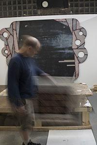 Visual Art Showcase, Mark Keffer. Featuring Eric Rippert.
