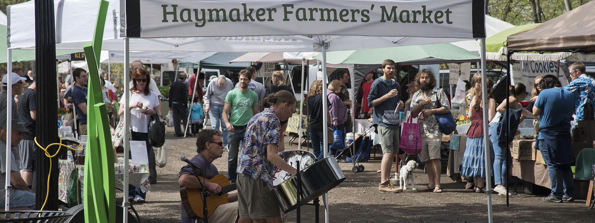 Haymaker Farmers' Market Kent Ohio. Photography by Matt Keffer