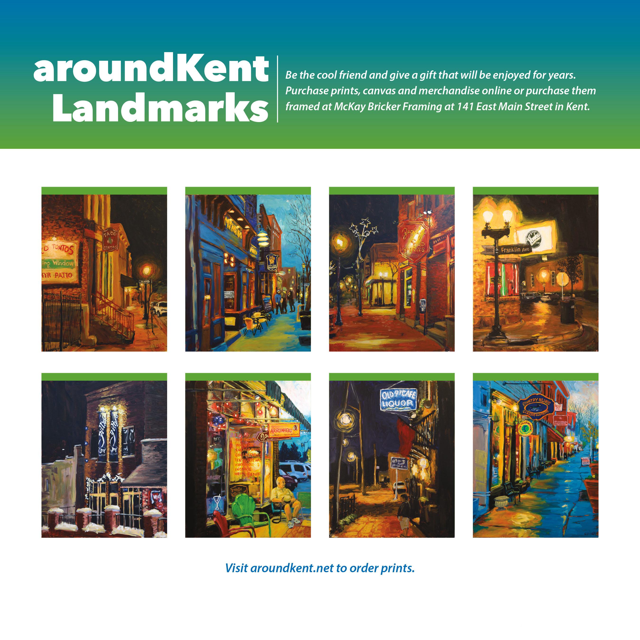 aroundKent Landmarks