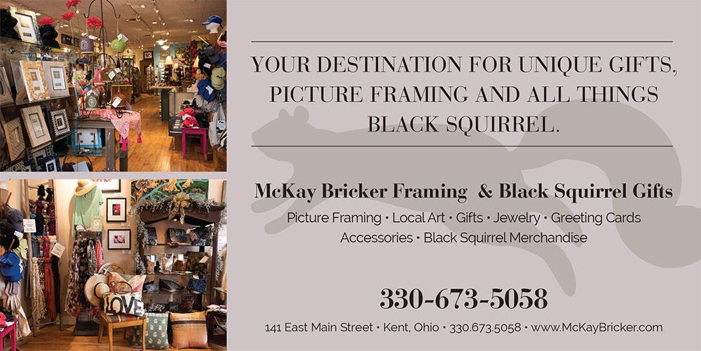 McKay Bricker Framing & Black Squirrel Gifts