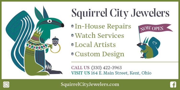 Squirrel City Jewelers Acorn Alley Kent Ohio