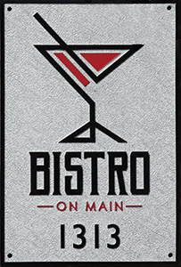 Bistro On Main outdoor sign