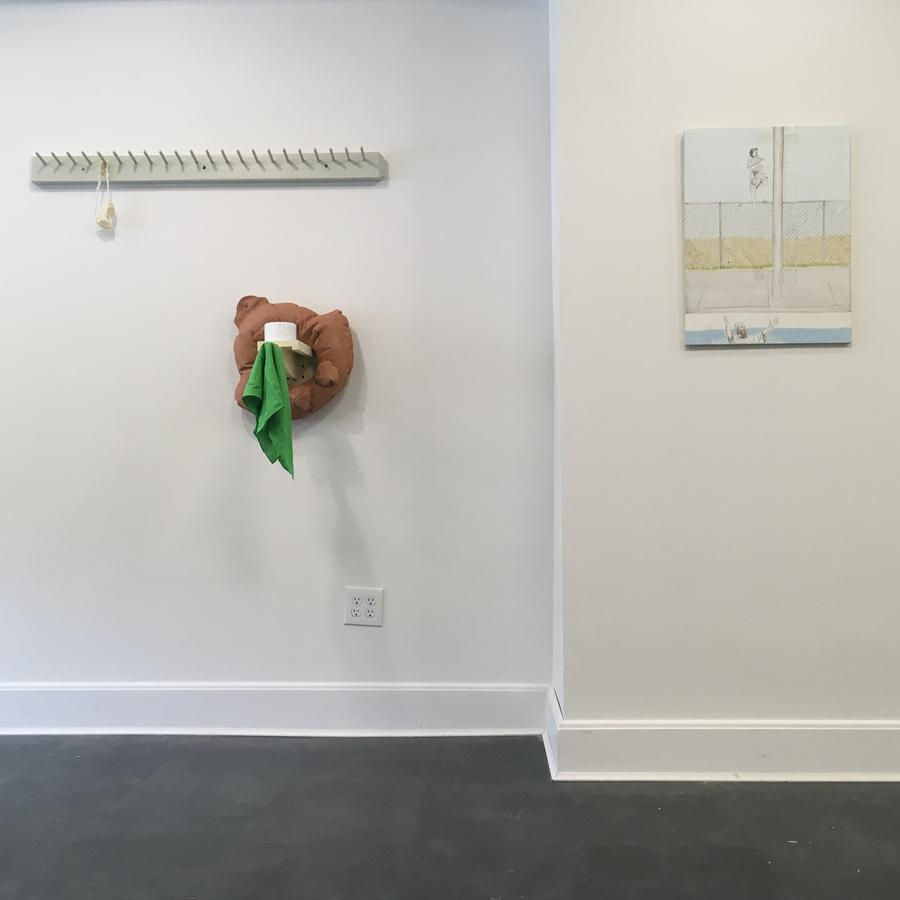 What Even Is? Troppus Projects current exhibition featuring Jennifer Masley and Jason Milburn.