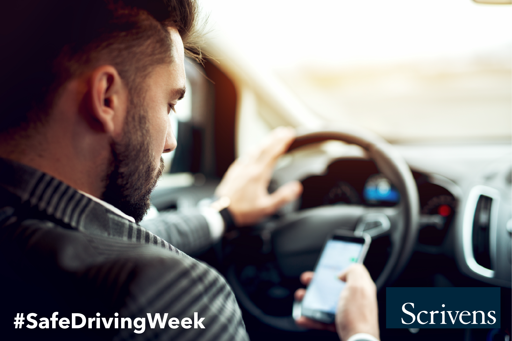 National Safe Driving Week - Preventing Distracted Driving