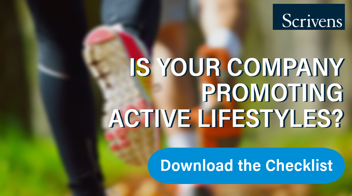 Is your company promoting active lifestyles?