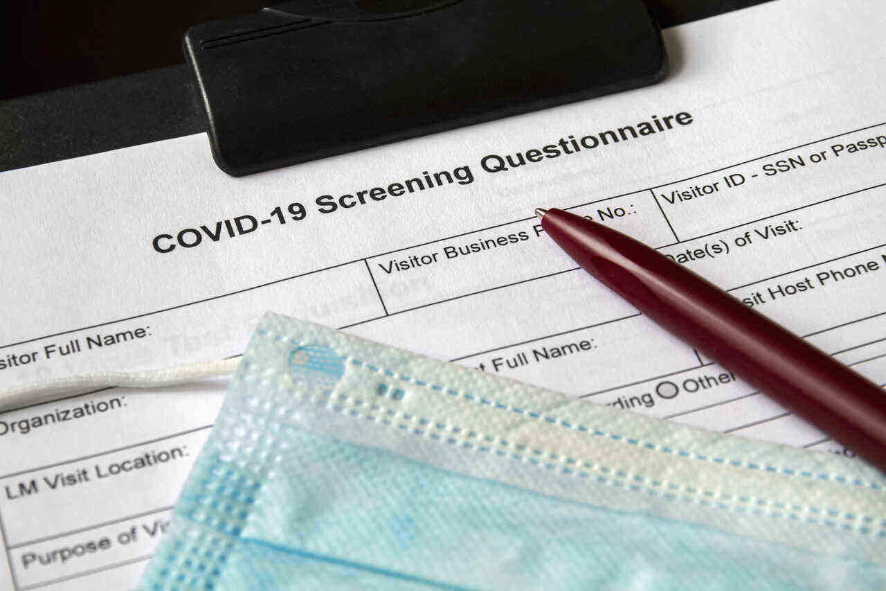 Covid 19 Screening Tool for Workplaces - Requirements for Ontario Businesses