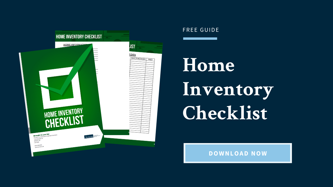 Download Free: Home Inventory Checklist