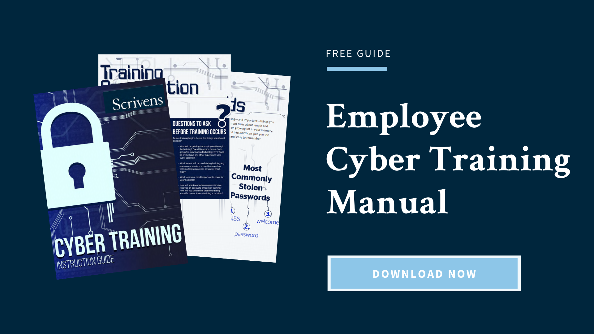 Employee Cyber Training Manual [Free Download]
