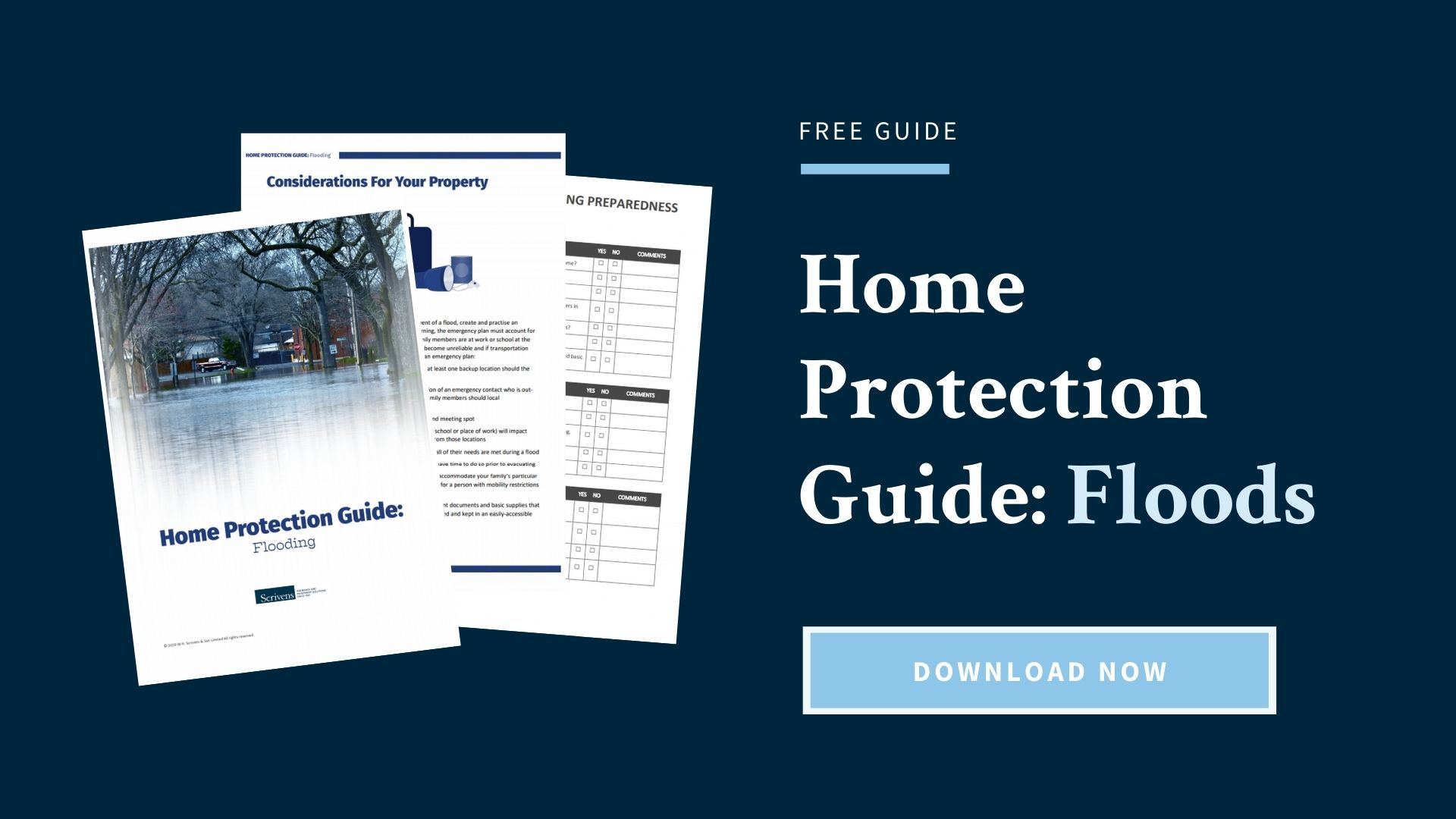 Home Protection Guide: Floods [Free Download] (opens in a new tab)