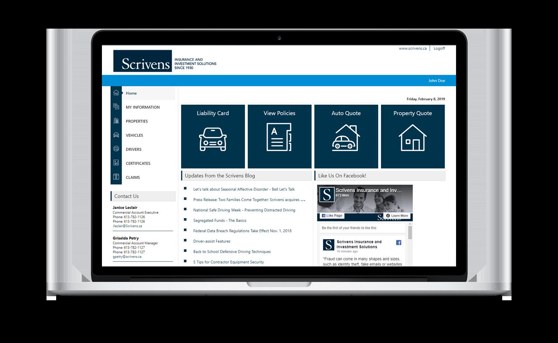 Scrivens Online Desktop