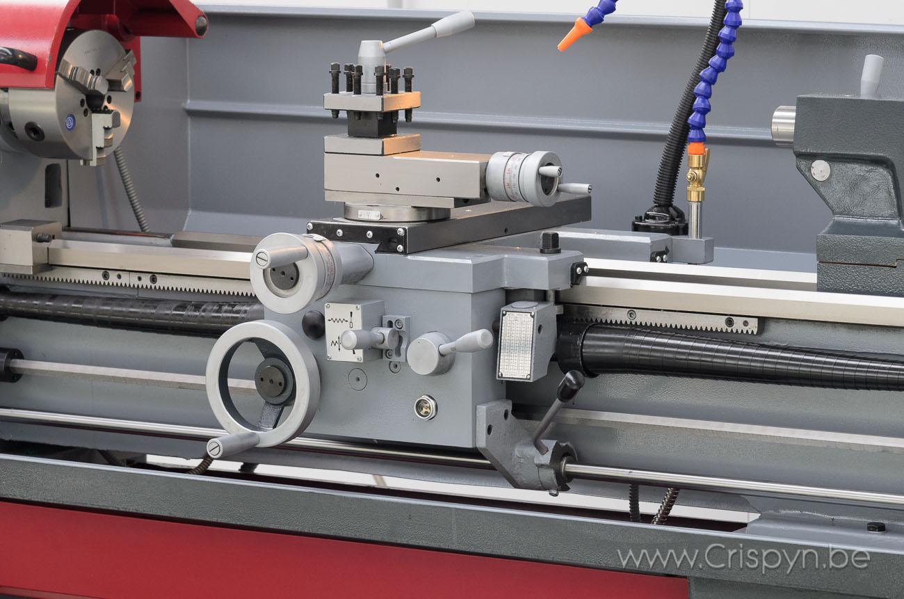 Draaidiameter 360mm, centerafstand 1000mm, gewicht 880Kg