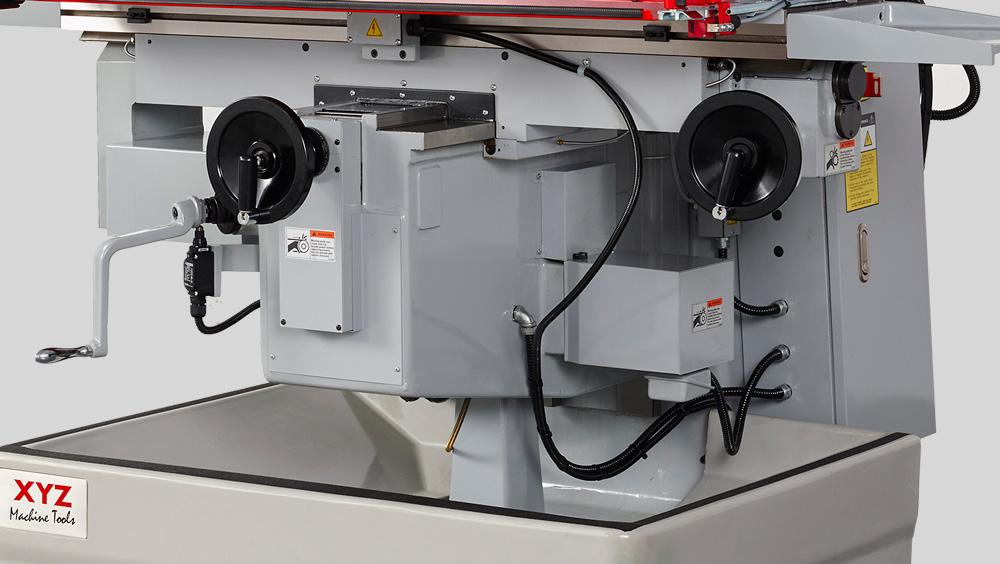 ProtoTRAK, Spindelmotor 3.75 kw Koersen xyz: 1000 x 410 x 400 mm Tafel: 1473 x 305 mm