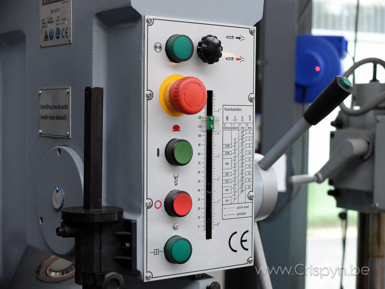Tandwielboormachine,Boren tot 30mm, kolom model, 1,5kW, MK3, 3x400V