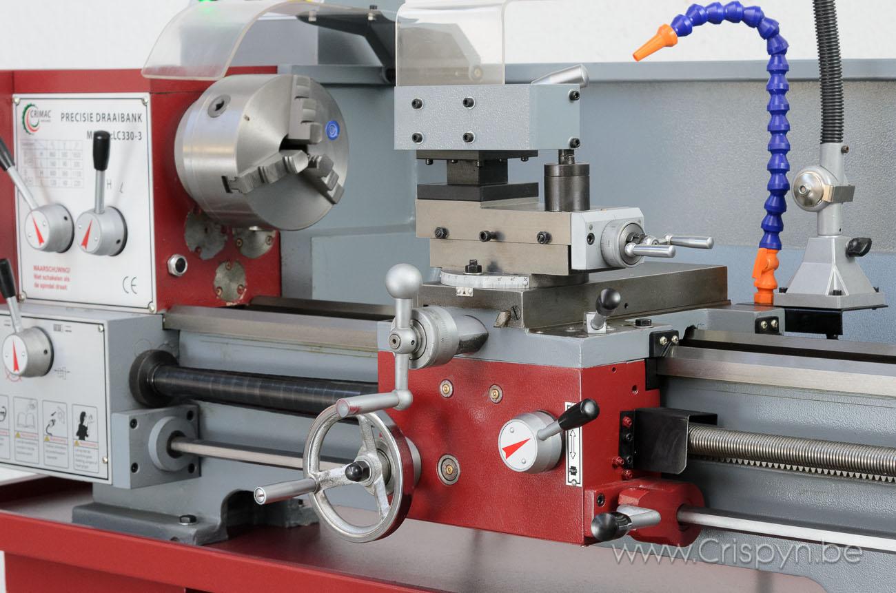 Draaidiameter 330mm, centerafstand 750mm, gewicht 375Kg