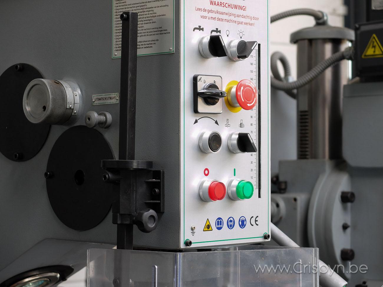 Tandwielboormachine,Boren tot 35mm, kolom model, 1,5kW, MK4, 3x400V