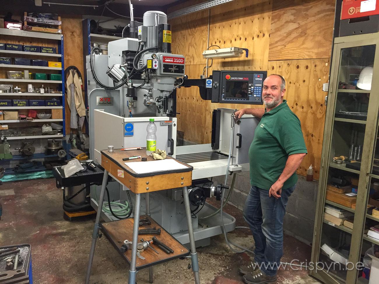 Mayday mechanics levert topkwaliteit draai en freeswerk met de hulp van Prototrak