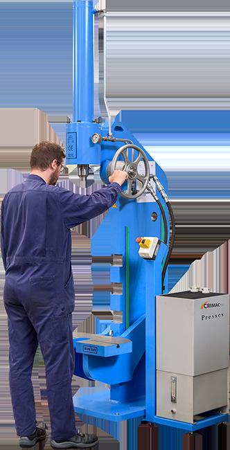 Precisie electro-hydraulische pers  PC300V-250