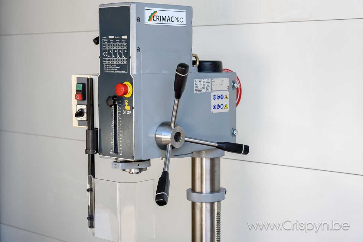 Een nieuwe machine in ons Crimac gamma!  kolomboor DCP 32