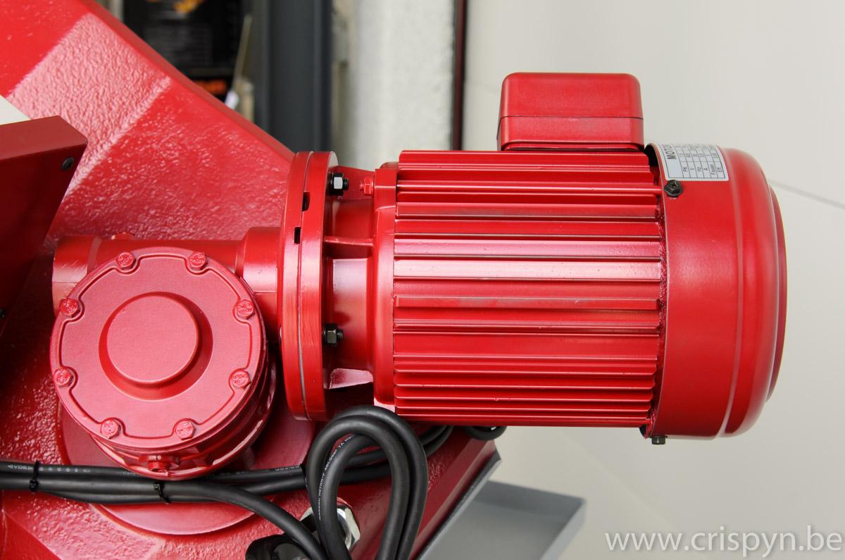 Capaciteit: rond 225mm, rechthoek: 245x180mm, Extra zware bouw, hydraulische tegendrukcilinder