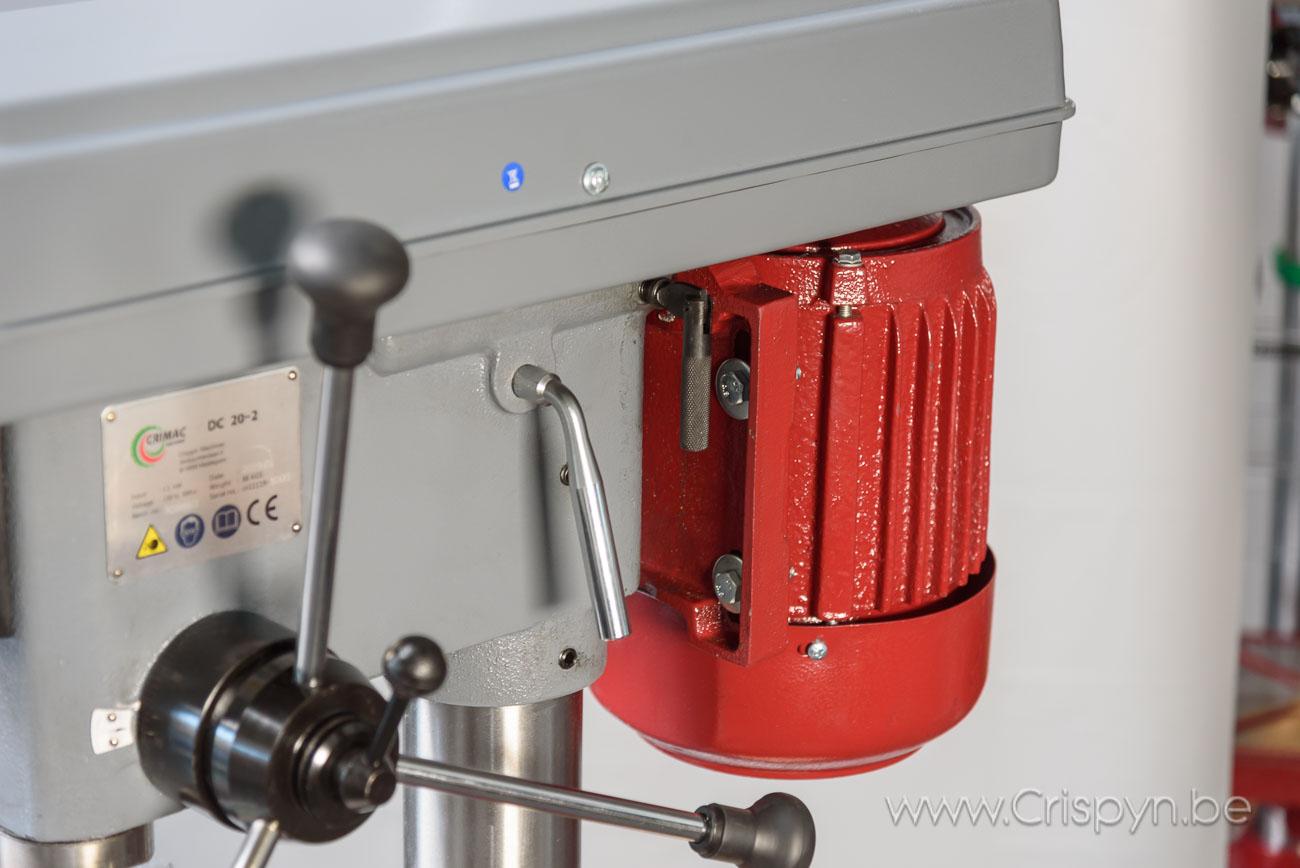 Tafelboormachine, V-snaar aandrijving,boren tot 22mm, 230V, 1,1kW