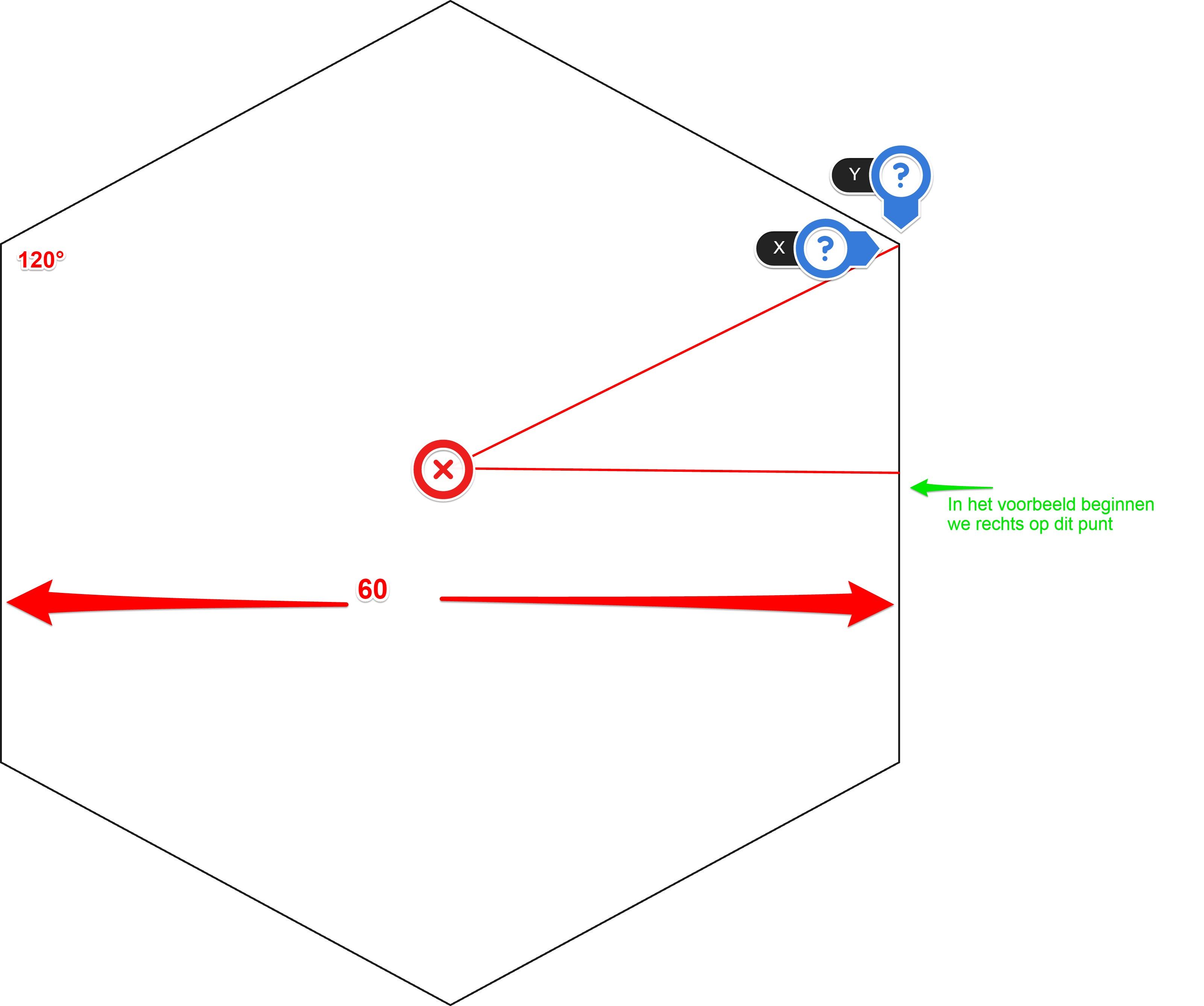 Een zeskant frezen Voorbeeld op KMX - de geavanceerde manier