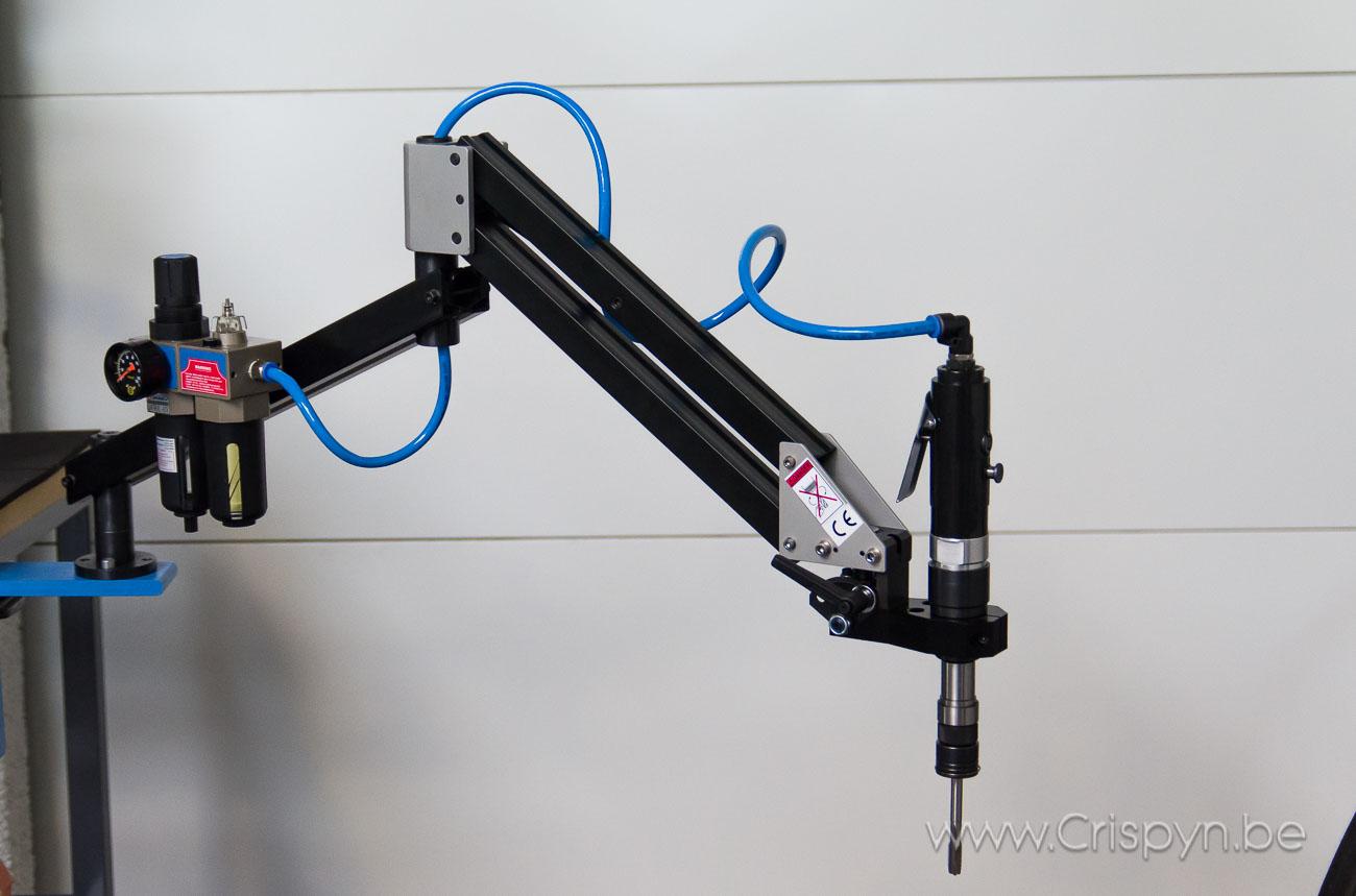 Snel en nauwkeurig tappen tot M12 met DIN tapinzetstukken met slipkoppeling.