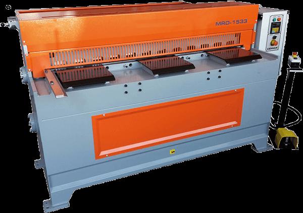 Elektrische plaatschaar HU 128-3 GS PLC