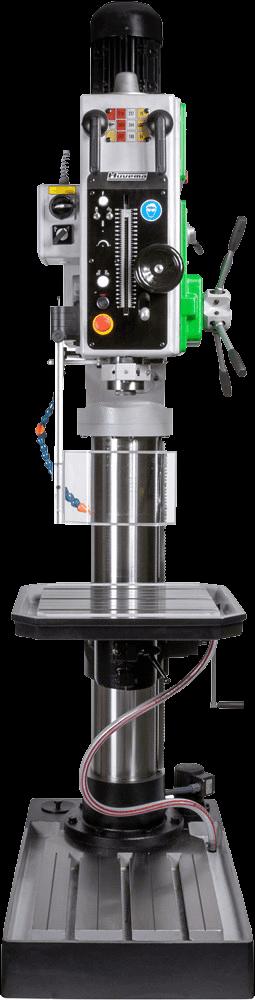 Intensief boren tot 50mm, Opname MK4, automatische voeding en tandwielkast gedreven.